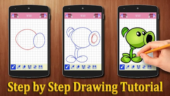 How to Draw Plants vs. Zombies Game Characters - náhled