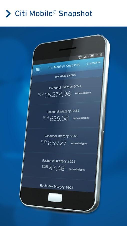 Citi handlowy aplikacje na androida w google play - Siti mobili on line ...