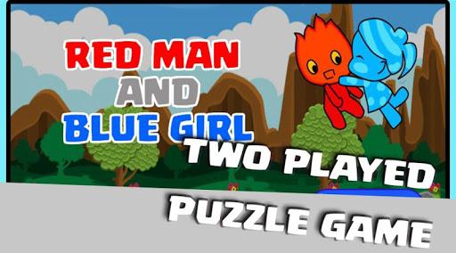 Red Man Blue Gril screenshot 1