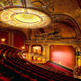 Elgin Theatre  by Roland Shanidze - Buildings & Architecture Other Interior ( other interiors, hdr, ceiling, roland shainidze, toronto, elgin theatre, architecture, architecture interior )