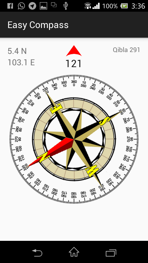 Easy Compass- screenshot
