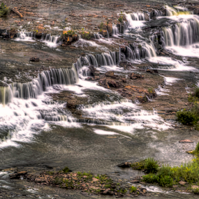 Great Falls 093118 by Anthony Balzarini - Landscapes Waterscapes ( #waterfall, #photograpghy, #greatfalls, #nature, #waterscape,  )