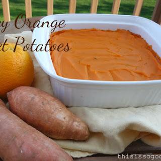 Spicy Orange Sweet Potatoes.
