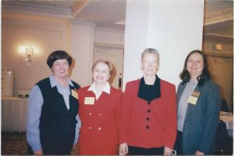 Photo: Dianne McDowell, Julia Roberts (WKU), Frances Karnes (USM) and Karen McCardy