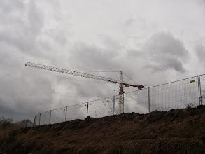 Photo: budują coś dużego nad Brynicą ?