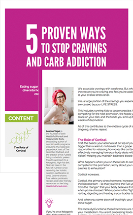 5 Ways to Stop Cravings and Carb Addiction