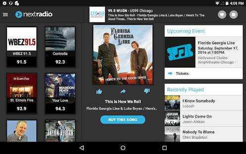 NextRadio Free Live FM Radio Screenshot 9