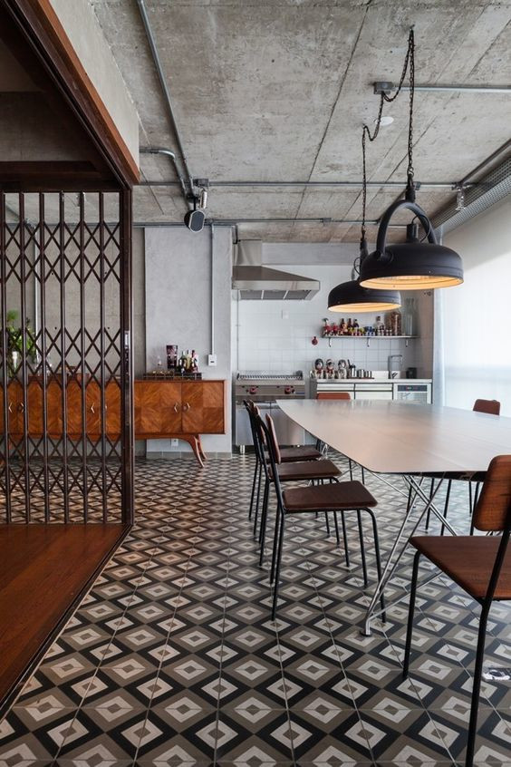 Estilos de decoración de interiores: estilo industrial