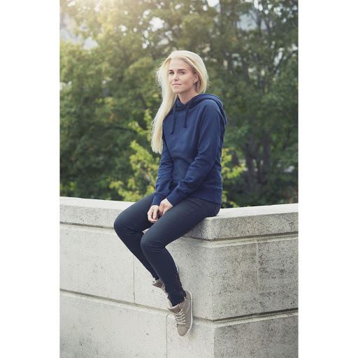 Neutral Ladies Hoodie Navy Blue