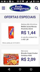 RedeCompras Supermercados screenshot 0