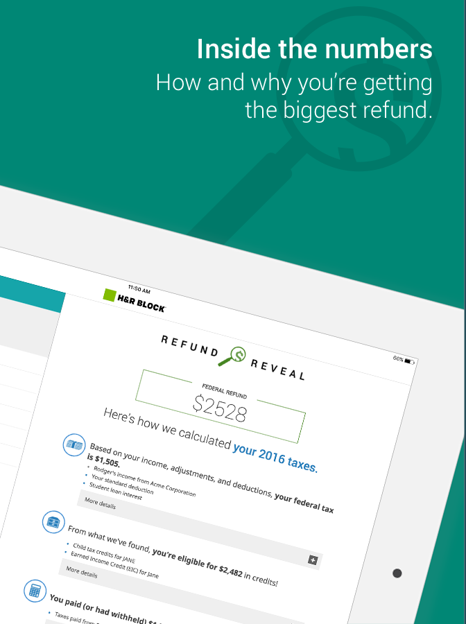 Full Site Disclaimers. H&R Block Online Deluxe or Premium, or H&R Block Software Basic, Deluxe, Premium or Premium & Business get unlimited sessions of live, personal tax advice with a tax .
