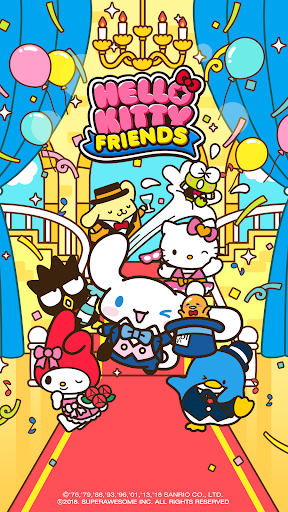 Hello Kitty Friends - Tap & Pop, Adorable Puzzles  screenshots 1