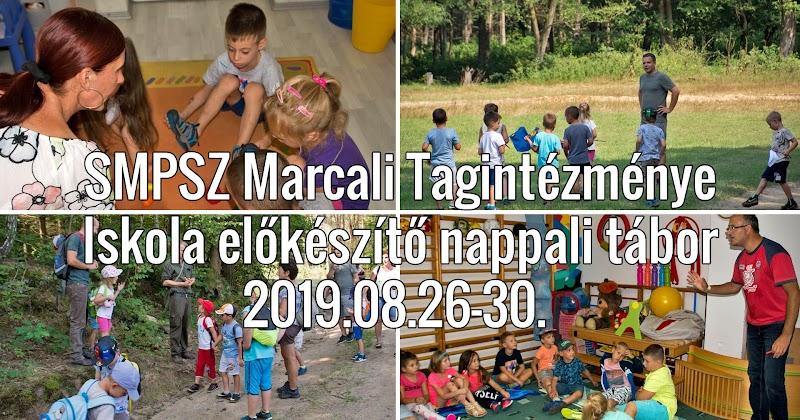 Iskola előkészítő nappali tábor 2019.08.26-30 Marcali