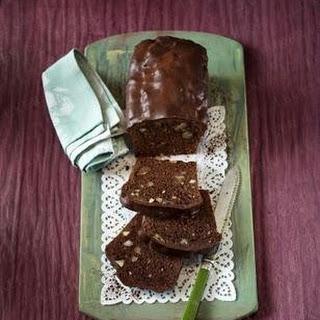 Brownie-Kastenkuchen mit Quitten
