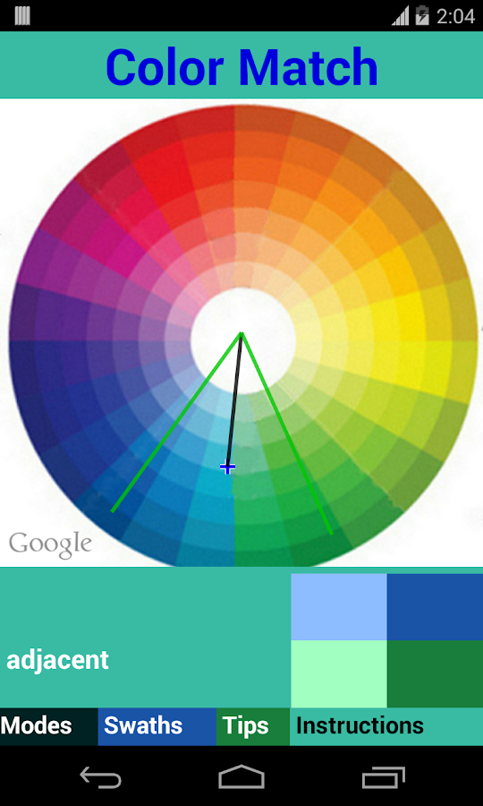 Color match android apps on google play - How to know what colors match ...