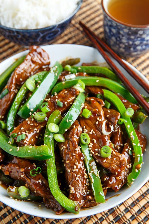 Quick and Easy Beef and Pepper Stir-fry