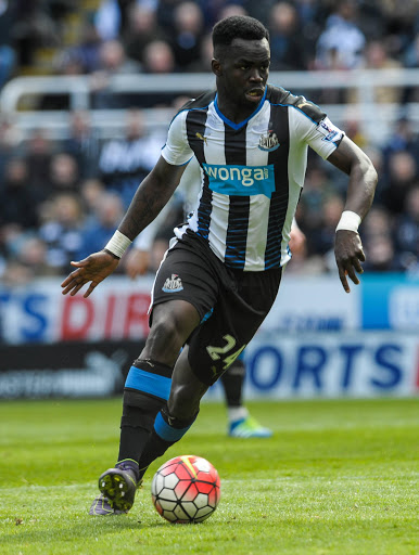 Cheik Tiote  of Newcastle United during the Barclays Premier League match between Newcastle United and Southampton at St James' Park in Newcastle upon Tyne, England. Photo by Ian Horrocks/Getty Images