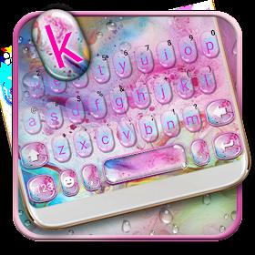 Тема для клавиатуры Bath Bubbles
