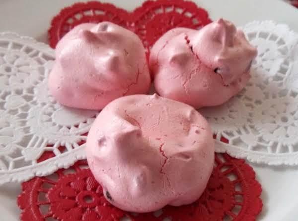 Valentine Meringues Recipe
