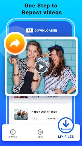 Video Downloader for Facebook - FB HD Video Saver  screenshots 8