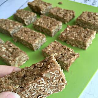 No Bake Nut and Oat Granola Bars