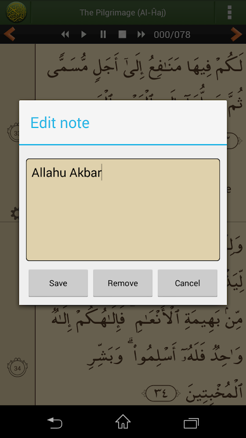 Quran Lite (English)- screenshot