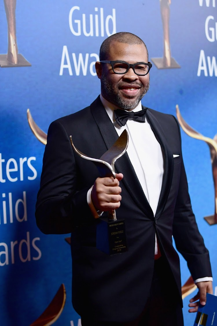 BEVERLY HILLS, CA - FEBRUARY 11: Writer/actor/director Jordan Peele attends the 2018 Writers Guild Awards L.A. Ceremony at The Beverly Hilton Hotel on February 11, 2018 in Beverly Hills, California.