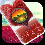 Love Tree Clock Live Wallpaper