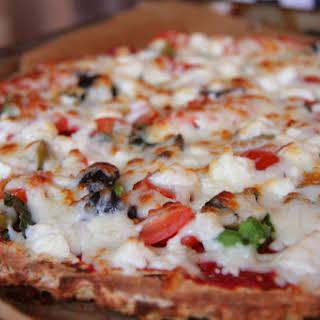 Coconut Flour Pizza.