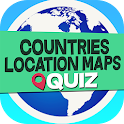 Countries Location Maps Quiz icon