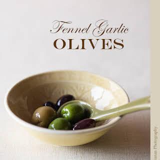 Fennel Garlic Olives.