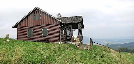 Photo: Dermbacher Hütte auf dem Gläser