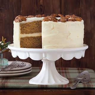 Pumpkin Spice Layer Cake.