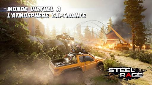 Télécharger Gratuit Steel Rage: Shooter JcJ de véhicules robots APK MOD (Astuce) 3