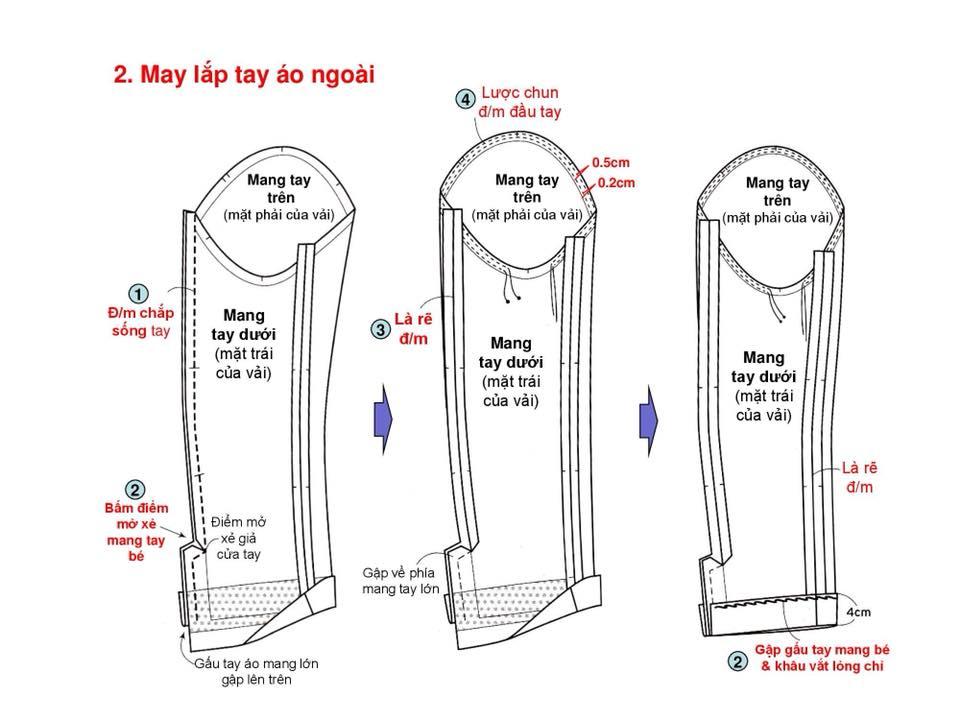 Bảng Size Thông Số Chuẩn Áo VEST NAM-NỮ Và Hướng Dẫn Cách Ráp Áo VEST 23