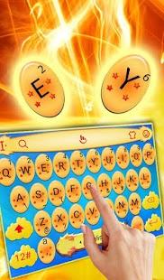 Dragon Game Keyboard Theme - náhled