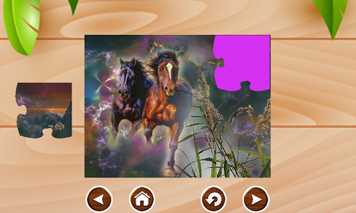 Horse Jigsaws Puzzles