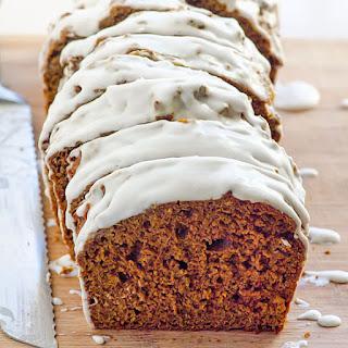 Clean Eating Gingerbread Loaf