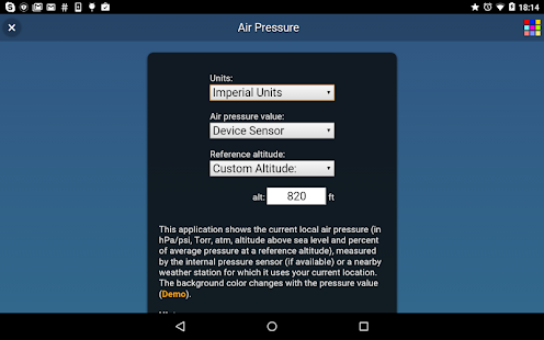 Air Pressure- screenshot thumbnail
