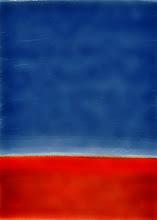 Photo: Red earth blue sky 3.26.14 digital 8x10
