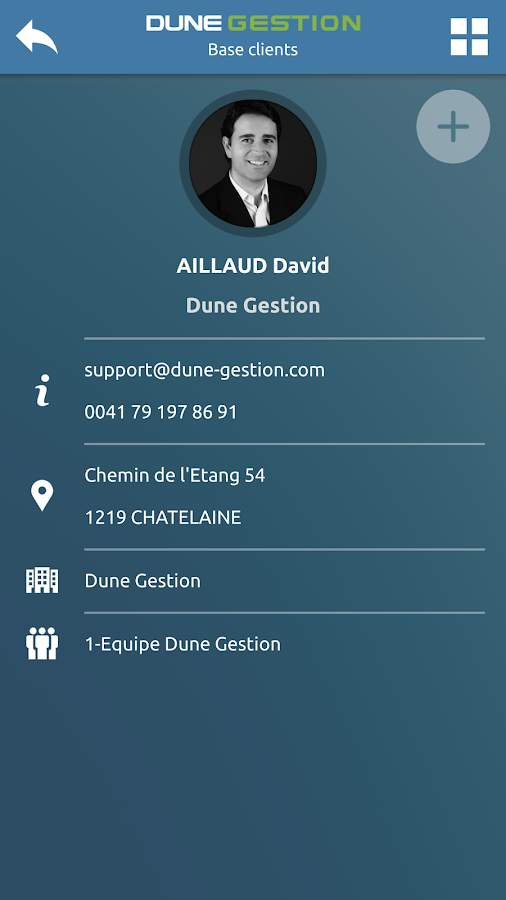 Dune Gestion- screenshot