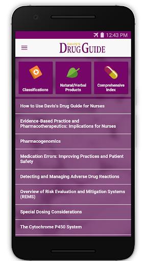 Davis's Drug Guide for Nurses  screenshots 1
