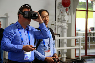 Photo: Oculus VR/AR3D at #REAL2015 Main Hall
