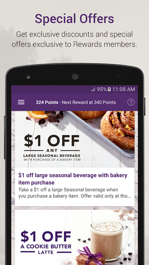 The Coffee Bean® Rewards- screenshot