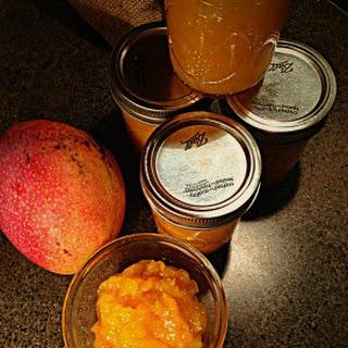 Sunny Saffron Mango Jam