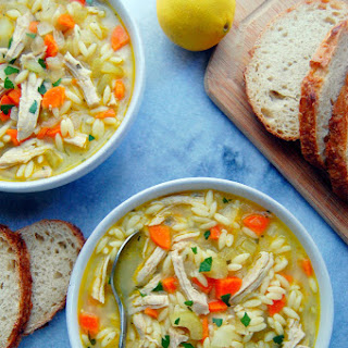 Turkey Orzo Soup