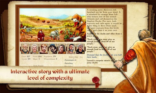 King of Dragon Pass Apk: Text Adventure RPG 5