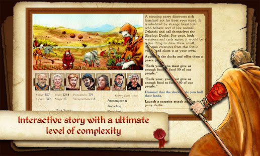 King of Dragon Pass: Text Adventure RPG