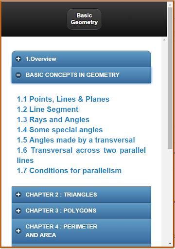 Basic Geometry Concepts 1.0 screenshots 2