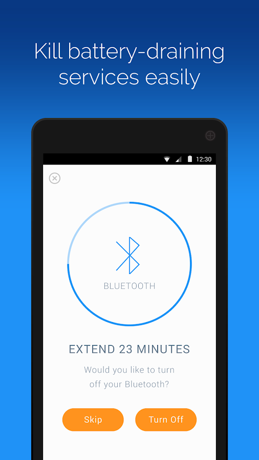 Battery Time Saver & Optimizer- screenshot